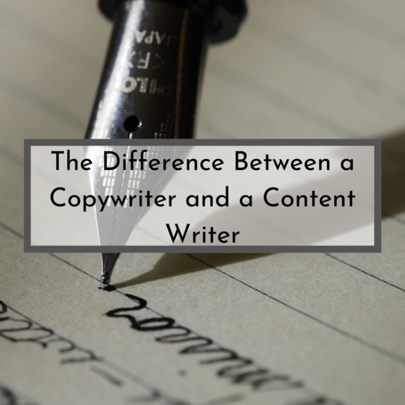 The Difference Between a Copywriter and a Content Writer